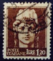 Italie Italy Italia 1944 Tirage De Rome Emissione Di Roma Yvert 474 O Used Usato - Gebraucht