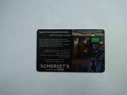 U.A.E Hotel Key, Mövenpick Bur Dubai (1pcs) - Hotelkarten