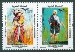 MOROCCO MAROC MAROKKO LES COSTUMES DE LA MEDITERRANEE 2019 - Marokko (1956-...)