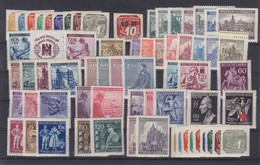 Dt.Bes.2.WK Böhmen & Mähren Lot Ex  MiNr. 42-141 ** - Occupation 1938-45