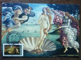 """2008  Botticelli """"La Naissance De Vénus""""    Y&T = AA155 (4137)    Parfait état - 2000-09"""