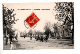 51 - SAINTE-MÉNEHOULD . AVENUE VICTOR HUGO - Réf. N°10750 - - Sainte-Menehould