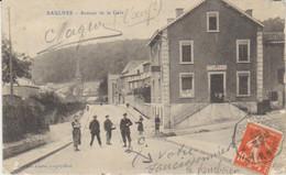 """1912 Environs De Longwy  Saulnes  Avenue De La Gare """" Café De L'Est  """" Pour La Barre De Monts - Longwy"""