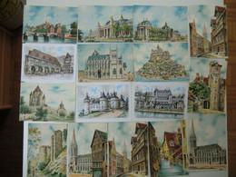 LOT 235 CP Différentes à 0,19 Cts Pièce- Illustrateur Barday Et Autres - M. Barré & J. Dayez - Villes,villages,monuments - 100 - 499 Karten