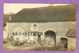 ARBIGNY SOUS VARENNES - Rare CARTE PHOTO épicerie Mercerie Café Restaurant ( Gratté Sur Le Crépis ) - Sonstige Gemeinden