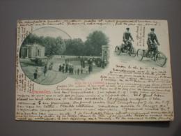 BRUXELLES 1900 - BOIS DE LA CAMBRE - PARKWACHTERS DRIEWIELER - GARDIENS TRICYCLE - Bossen, Parken, Tuinen