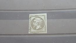 LOT517584 TIMBRE DE FRANCE OBLITERE N°11 DEPART A 1€ - 1853-1860 Napoléon III
