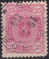 FINLAND SOUMI [1875] MiNr 0017 B Y A ( O/used ) - 1856-1917 Russische Verwaltung