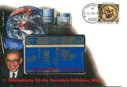 5865) Telefonkartenbrief Von 1993 Der UNO Wien - Unclassified