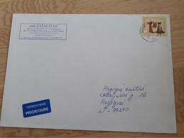 Lithuania Litauen Cover Sent From Marijampole To Pagegiai  2012 - Lithuania
