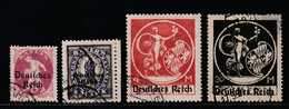 Deutsches Reich / Lot Gestempelt (B743) - Usados