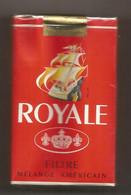 Ancien Paquet De Cigarettes , Complet , Scéllé, ROYALE ROUGE , Frais Fr 3.15 E - Zigarettenzubehör