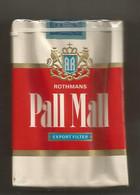 Ancien Paquet De Cigarettes , Complet , Scéllé, PALL MALL , Frais Fr 3.15 E - Sigarette - Accessori