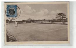 MOZAMBIQUE MOCAMBIQUE #16808 BEIRA CAMPOS DE TENNIS DO CLUB VASCO DE GAMA SPORT - Mozambique