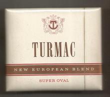 Ancien Paquet De Cigarettes , Complet , Scéllé, TURMAC ,NEW EUROPEAN BLEND ,SUPER OVAL , Frais Fr 3.15 E - Zigarettenzubehör