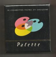 Ancien Paquet De Cigarettes , Complet , Scéllé, PALETTE , Filtre En Couleurs , Frais Fr 3.15 E - Zigarettenzubehör