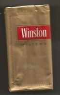 Ancien Paquet De Cigarettes , Complet , Scéllé, WINSTON , Filters , Frais Fr 3.15 E - Zigarettenzubehör