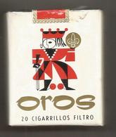 Ancien Paquet De Cigarettes , Complet , Scéllé, OROS ,filtre , Frais Fr 3.15 E - Sigarette - Accessori