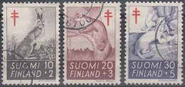 FINLANDIA 1962 Nº 527/29 USADO - Gebraucht