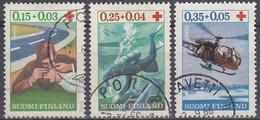 FINLANDIA 1966 Nº 580/82 USADO - Gebraucht