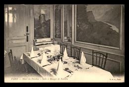 75 - PARIS 10EME - HOTEL DU PAVILLON, 36 RUE DE L'ECHIQUIER - LA SALLE A MANGER - Arrondissement: 10