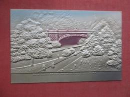 New York City > Brooklyn        Embossed Air Brush  Walk Under Bridge Prospect Park            Ref 4439- - Brooklyn
