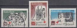 FINLANDIA 1970 Nº 638/40 USADO - Gebraucht