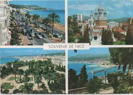 Nice : Multi-vues (Voyagé 1966) - Mehransichten, Panoramakarten