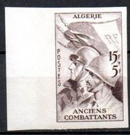 Algérie: Yvert N° 309a**; MNH: Journée Du Timbre; Non Dentelé - Nuevos