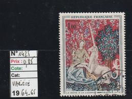 FRANCE  (1964-65)  Oblitéré  N° 1425 - Variété- REF 9762 - Used Stamps