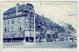 COXYDE- BAINS  - L' Avenue De La Mer - Star N° 72 - Koksijde