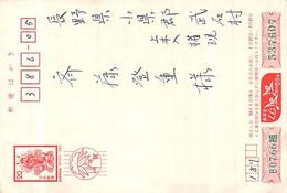 Carte Lettre 日本のオリジナル紙に古い書道の手紙カード  Nihon No Orijinaru-shi Ni Furui Shodō No Tegami Kādo - Used Stamps