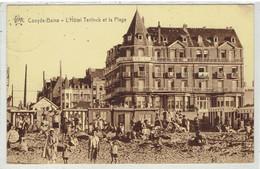 COXYDE-BAINS - L' Hôtel Teirlinck Et La Plage - Koksijde