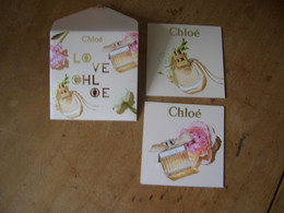 Carte Chloe Enveloppe Contenant 2 Cartes A/patch - Modern (vanaf 1961)