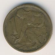 CZECHOSLOVAKIA 1965: 1 Koruna, KM 50 - Czechoslovakia