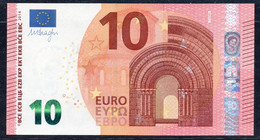 10  EURO DRAGHI  GRECIA  YA  Y009 I6  LAST POSITION   UNC - EURO