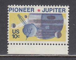 USA 1975 - Space: Pioneer-Jupiter, MNH** - Estados Unidos