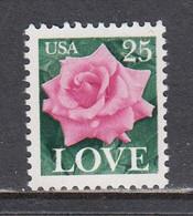 USA 1988 - Love(Rose), MNH** - Vereinigte Staaten