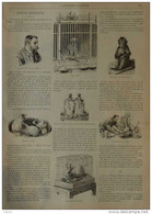 Louis Pasteur - M. Perdrix Du Bureau Des Vaccinations - Page Original 1895 - Historical Documents