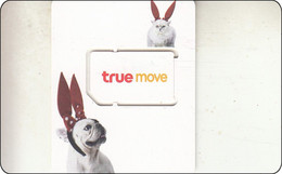 Thailand Phonecard GSM True  Mint Rabbit - Thailand