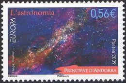 CEPT / Europa 2009 Andorre Français N° 673 ** L'astronomie - Europa-CEPT