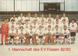 FÜSSEN EV FÜSSEN 82/83 PATINOIRE HOCKEY SUR GLACE ICE HOCKEY - Winter Sports