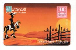FRANCE PREPAYEE INTERCALL LUCKY LUKE ANNEE 1999 Tirage 8200 Ex Non Gratté - Prepaid-Telefonkarten: Andere