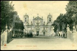 OLD POSTCARD IGREJA MATOSINHOS PORTO PORTUGAL CARTE POSTALE - Porto