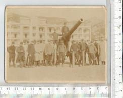 PG  /  SUPERBE PHOTO ORIGINALE MILITARIA 1914-1918 TOULON @@ MILITAIRE CANON OBUS - Krieg, Militär