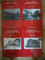 ARDENNES - GUELLIOT - Arrondissement De VOUZIERS - Dictionnaire Des Communes - 4 TOMES - Nombreuses Illustrations - Champagne - Ardenne