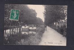 Vente Immediate Vierzon (18) Canal Du Berry ( Peniche Batellerie 43821) - Vierzon