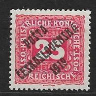 Czechoslovakia 1919 MNH ** Mi 85 Sc B51 Austrian Stamps Of 1916-18 Overprinted POSTA CESKOSLOVENSKA 1919. - Czechoslovakia