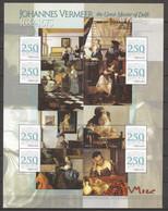 Grenada 2008 - Large MNH Sheet (2) PAINTINGS JOHANNES VERMEER - TOKYO METROPOLITAN ART MUSEUM - Otros