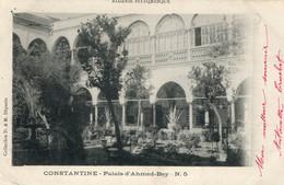 Constantine - Palais D'Ahmed-Bey - Collection D. & M. - Carte N° 5 Dos Simple - Constantine